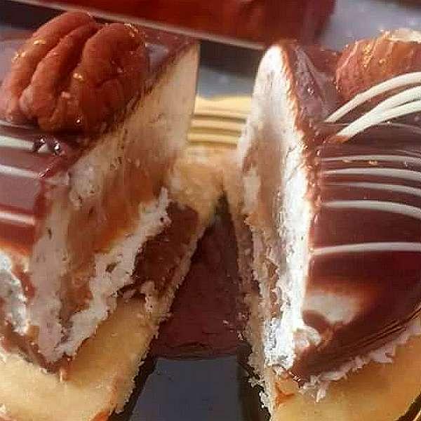Caramelo, pâtisserie individuelle au coeur caramel beurre salé, livraison à domicile 75 77 92 93 94 95