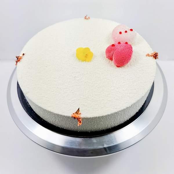 Entremet Flexi Mangue Passion - gâteau fruits exotiques - gâteau d'anniversaire livré à domicile