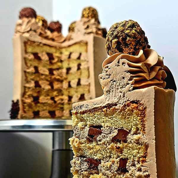 Layer Cake Chocolat Nutella Livre Domicile Paris
