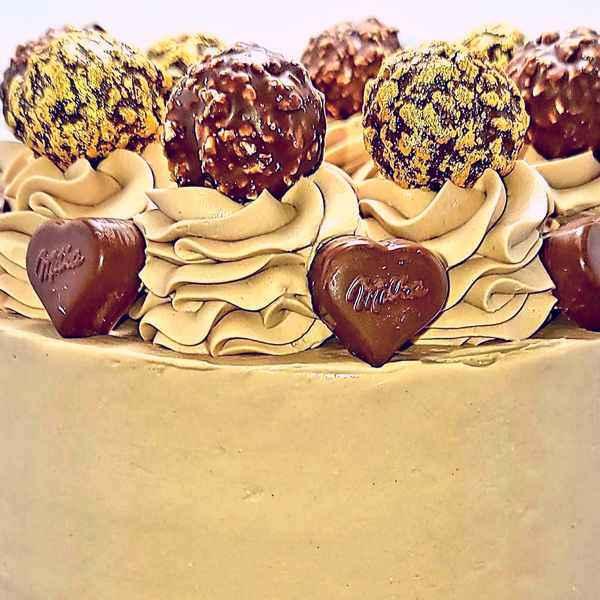 Layer Cake Chocolat Nutella Vente En Ligne livré sur Paris et Région parisienne
