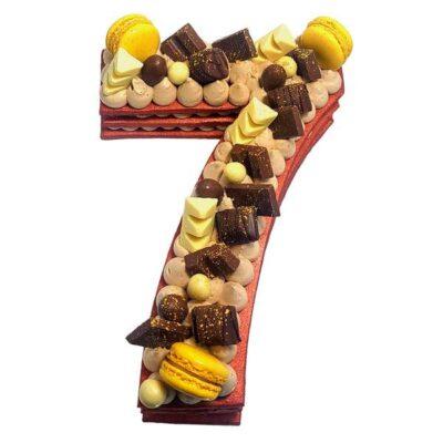 Number cake au Chocolat & Nutella®